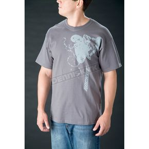 Joe Rocket Charcoal Stunt T-Shirt - 8053-2604
