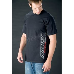Joe Rocket Black Logo Stunt T-Shirt - 8053-3004
