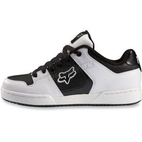 Fox White/Black Quadrant Shoes - 65094-008-7.5