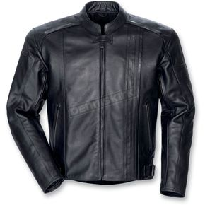 Tour Master Black Coaster 3 Leather Jacket - 8721-0305-06