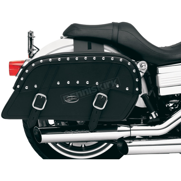 Saddlemen Extra Jumbo Throw-Over Desperado Slant Saddlebags - 3501-0318