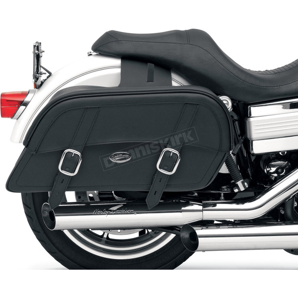 Saddlemen Large Throw-Over Drifter Slant Saddlebags - 3501-0319