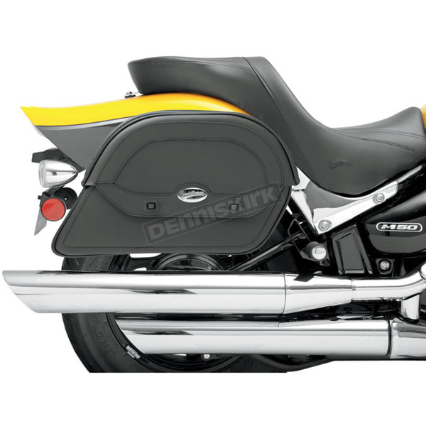 Saddlemen Jumbo Custom-Fit Cruisn Slant Saddlebags  - 3501-0438