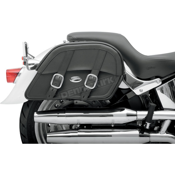 Large Custom-Fit Drifter Slant Saddlebags - 3501-0439
