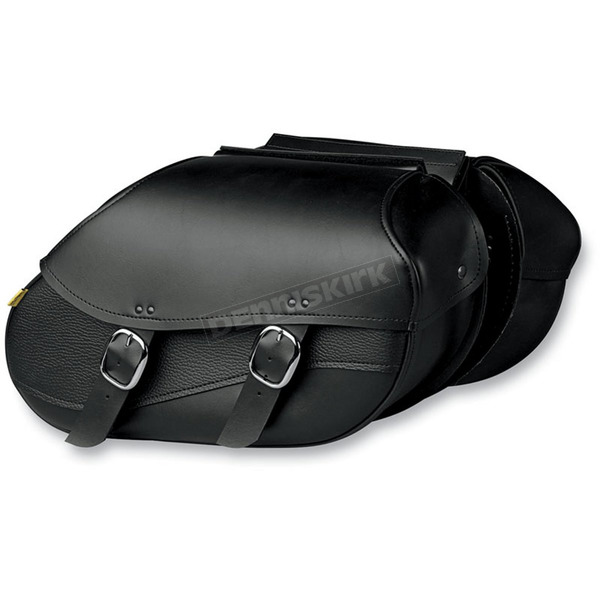 Willie & Max Small Hard-Mount Swooped Revolution Saddlebags - 03437