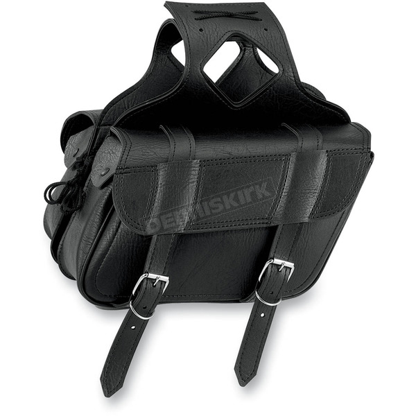 All American Rider Slant Flap-Over Style Saddlebags - 3056