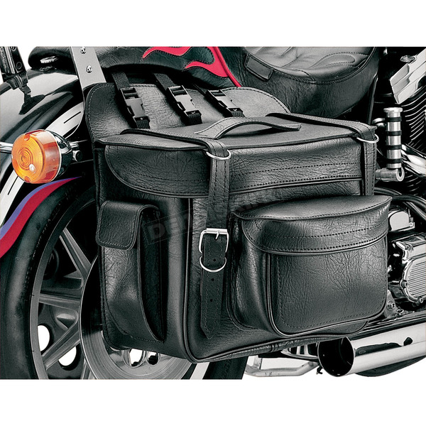 All American Rider Plain XXXL Box-Style Detachable Saddlebags - 9902P