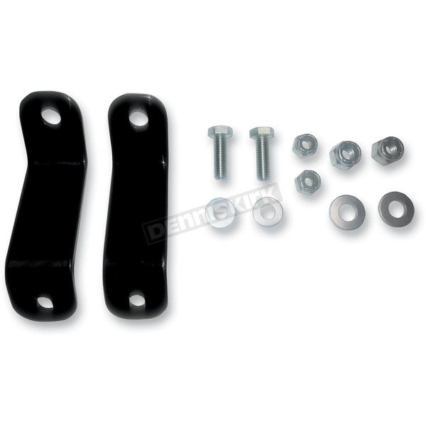 Drag Specialties Saddlebag Bracket Relocation Kit - 3501-0857
