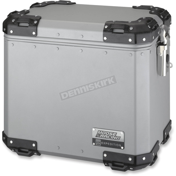 Moose Large Silver Expedition Side Case  - 3501-0926