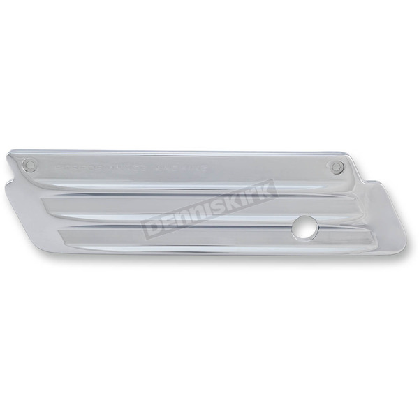 Performance Machine Chrome Drive Saddlebag Latch Covers - 0200-2006-CH