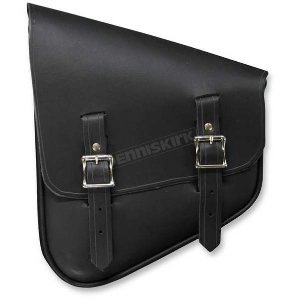Nash Motorcycle Co. Black Leather Left-Side Nashty Saddlebag - NOBBLN