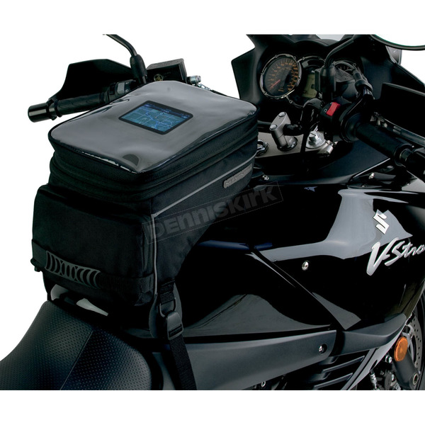 Nelson-Rigg Black Adventure Touring Tank Bag - CL-1050