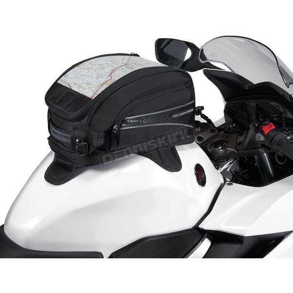 Nelson-Rigg Black CL-2015 Journey Sport Tank Bag W/ Magnetic Mounts - CL-2015-MG
