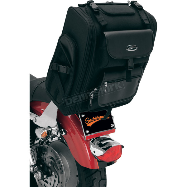Saddlemen S2200E Expandable Sissy Bar Bag - 3515-0080