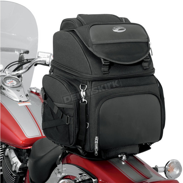 Saddlemen BR3400 Back Seat or Sissy Bar Bag - 3515-0107