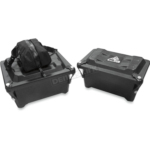 Skinz Large Black Box Tunnel Storage Box  - SB100-D