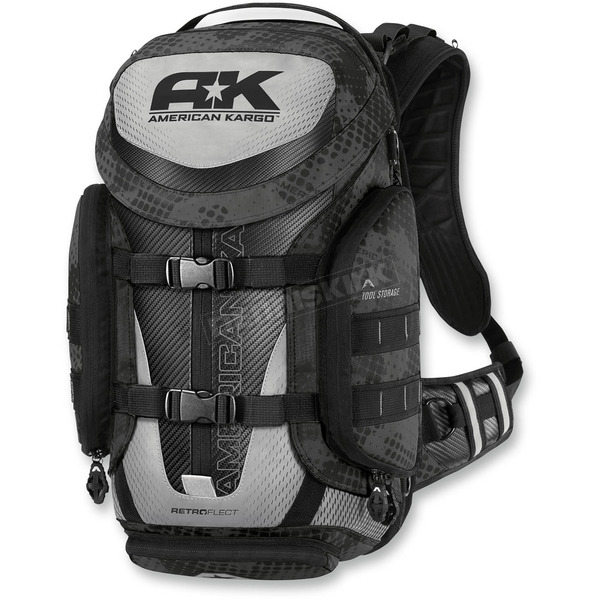 American Kargo Black Trooper Backpack - 3517-0329
