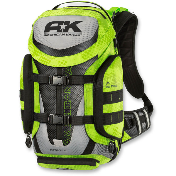 American Kargo Hi Viz Trooper Backpack - 3517-0331
