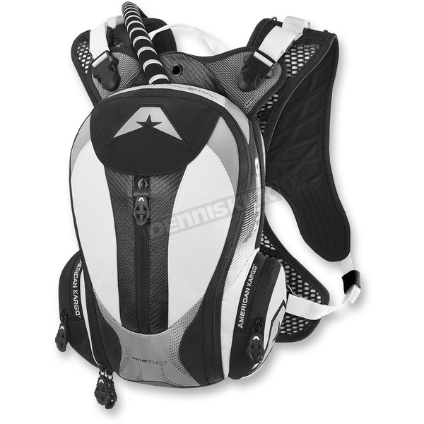 American Kargo White Turbo 2.0L Hydration Pack - 3519-0007