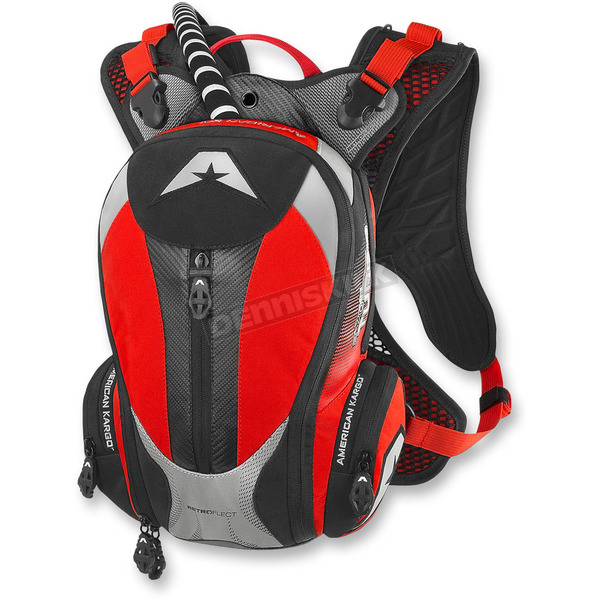 American Kargo Red Turbo 2.0L Hydration Pack - 3519-0008