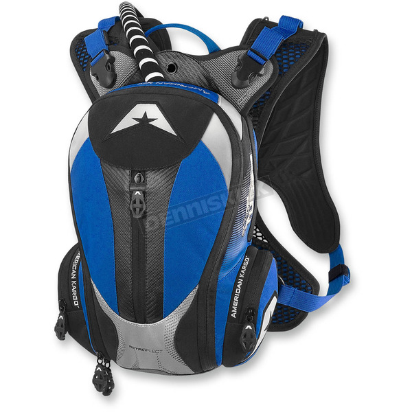 American Kargo Blue Turbo 2.0L Hydration Pack - 3519-0009