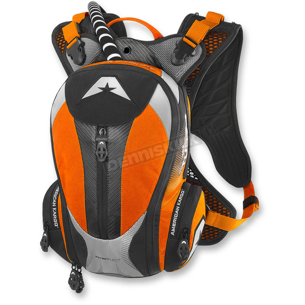 American Kargo Orange Turbo 2.0L Hydration Pack - 3519-0011