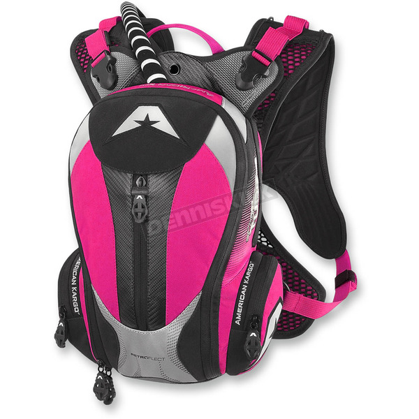American Kargo Pink Turbo 2.0L Hydration Pack - 3519-0012