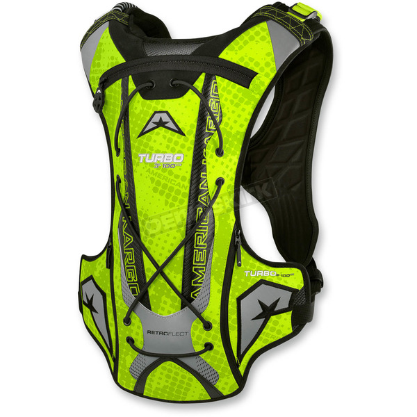 American Kargo Hi Viz Turbo 3.0L Hydration Pack - 3519-0023