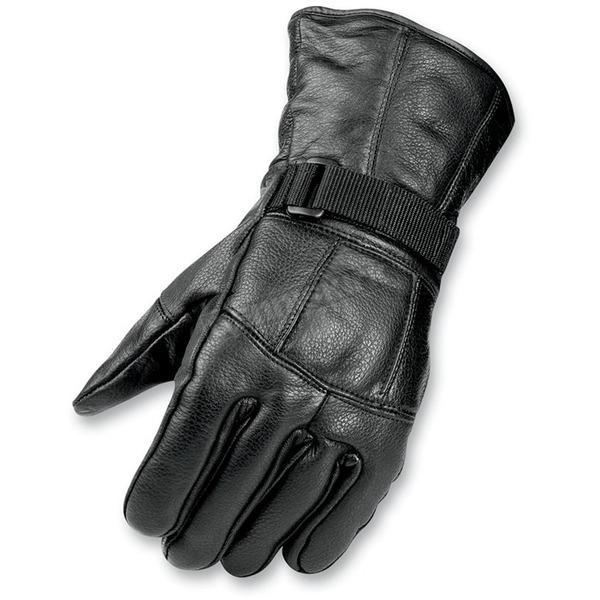Mossi All Season Black Leather Gloves - BCS-2660-XL