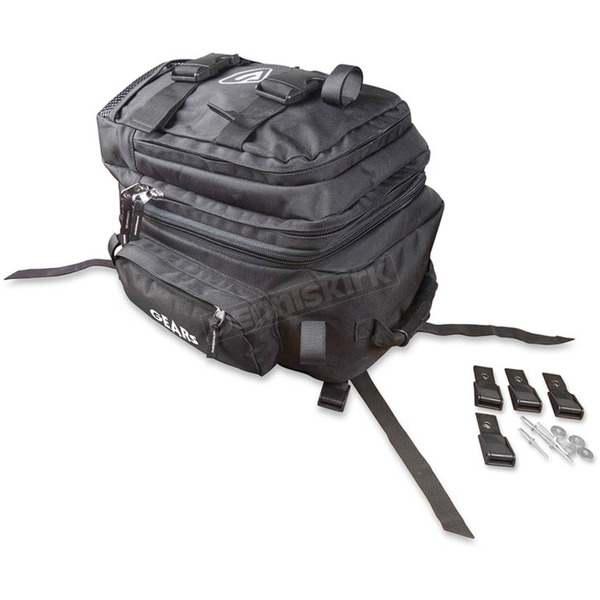 Gears Black Universal Tunnel Bag - 300214