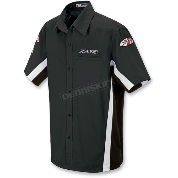 Joe Rocket Black/White Staff Shirt - 8053-0303