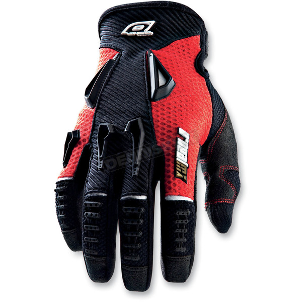 O'Neal Red Reactor Gloves - 0471