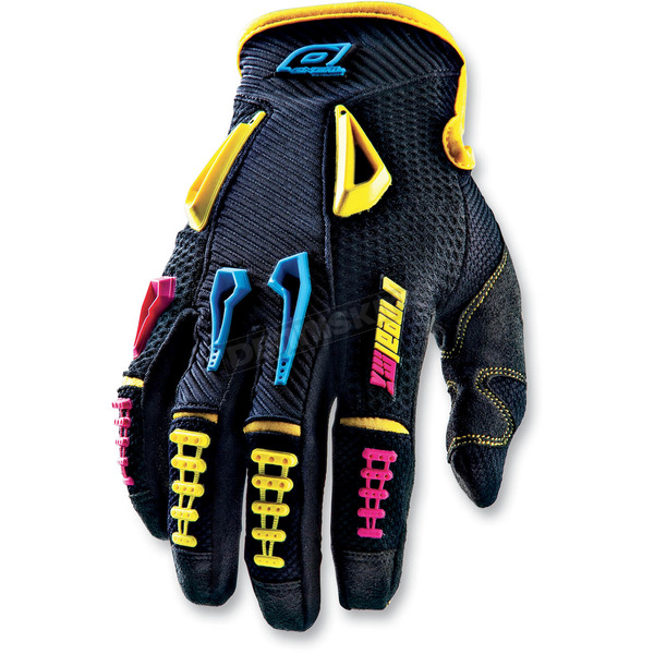 O'Neal Neon Reactor Gloves - 0471