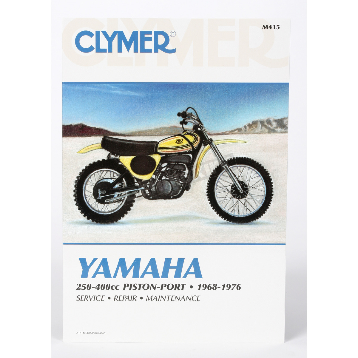 Clymer Yamaha Repair Manual - M415