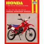 Honda Repair Manual - 566
