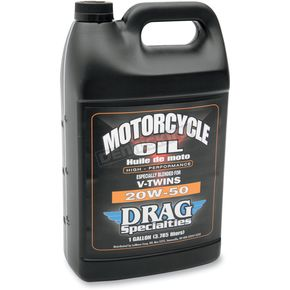 Drag Specialties 20W-50 Motorcycle Oil - 3601-0116