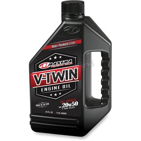 Maxima Full Synthetic V-Twin 20W50 Engine Oil  - 30-11901