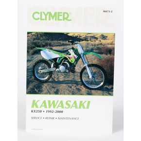 Clymer Kawasaki Repair Manual - M473-2