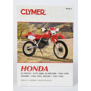 Clymer Honda Repair Manual - M328-4