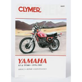Clymer Yamaha Repair Manual - M405