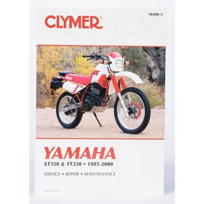 Clymer Yamaha Repair Manual - M480-3