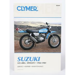 Clymer Suzuki Repair Manual - M369