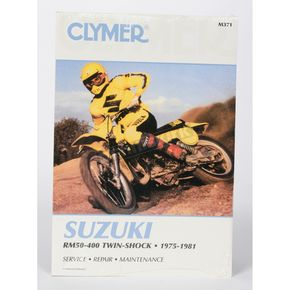 Clymer Suzuki Repair Manual - M371