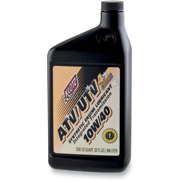 Klotz ATV/UTV 4-Stroke Synthetic 10W40 Engine Oil - ATVUTV-1040