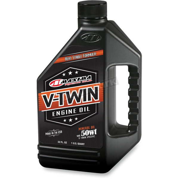 Maxima Pre-Evolution V-Twin 50WT Engine Oil  - 30-07901