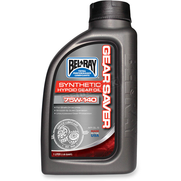 Bel-Ray Gear Saver Synthetic Hypoid Gear Oil - 99238-B1LW