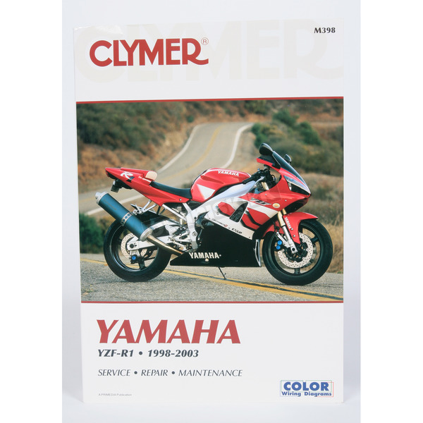 Clymer Yamaha Repair Manual - M398