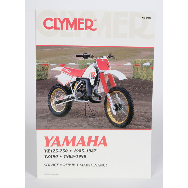 Clymer Yamaha Repair Manual - M390