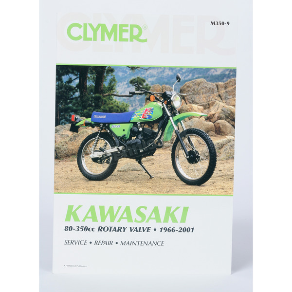 Clymer Kawasaki Repair Manual - M350-9