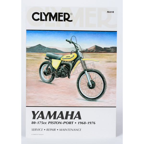 Clymer Yamaha Repair Manual - M410